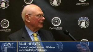 Paul Hellyer, ex ministro della difesa e dei trasporti del Canada