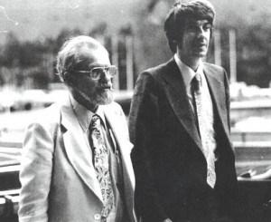 Joseph Allen Hynek in compagnia di Jacques Vallée