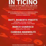 28 ottobre 2016: Presenze UFO in Ticino